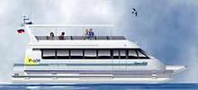 R-109 deck passenger catamaran ferry