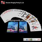 Advertising tourism playing cards, tourist poker