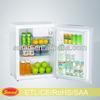 70L rockstar mini fridge hotel fridge/ refrigerator Refrigerator with RoHS/SAA
