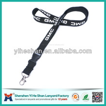 custom printed plastic breakaway buckle novelty lanyards