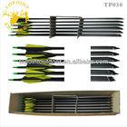 "Topoint Archery,30"" Carbon Arrows for compound bow,TP030-C"