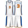 2014 Custom Made Polyester Sublimated Basketball Uniform for OEM Service