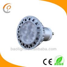 french china 12v 220v osram led gu10 5w spotlight 90lm/w 80ra led lamp