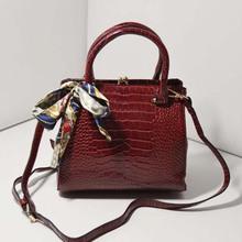 BLE1002 Wholesale european export handbags crocodile high qualtiy pu leather handbags women in 2014 spring
