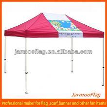 collapsible outdoor trade fair tent