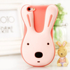 2014 Lovely animal silicone Rabbit case mobile phone for iphone 5