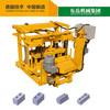 QT40-3 Mobile type hollow manual cheap concrete block making machine