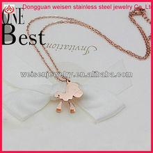 Latest design chinese zodiac horse pendant necklace