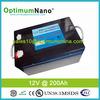 12V 300AH Lifepo4 lithium battery for solar pv system