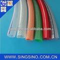 claro de pvc reforzado de la manguera de aire flexible de la manguera de agua