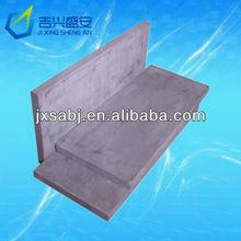 graphite plate for glass/ bulk density:1.85g/cm3