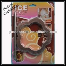 decorative painting plastic curtain tieback ring