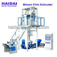 the PP or PE film/yarn/fiber extruder machine
