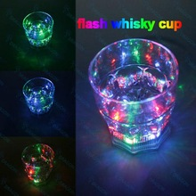 Light Up Led Flash Whisky Cup