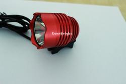 1200 LM Cree XM-L T6 U2 LED Headlight Bicycle Bike Light Waterproof Flashlight,double head led light bike
