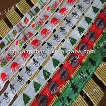 printed fold over elastic Chevron FOE lace trim Wholesale