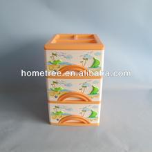 2014 small plastic storage drawer multi-drawer