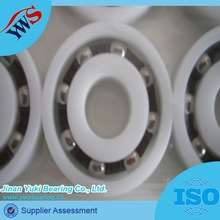 1621:12.7x35x11.1mm plastic pom ring with stainless steel ball bearing