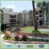 Powder coated steel garden fence with competitive price in store (manufacturer)