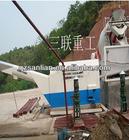 single stall concrete recycling machine