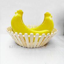 BPA Free Plastic Food Grade Banana Shape Food Container