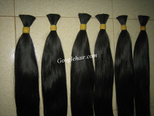 Unprossed supplier high quality cheap remy double drawn hair