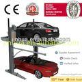 la inclinación 2014 aparcar dos puesto de estacionamiento de doble nivel equipos ce para la venta del fabricante de china de la tienda auto dos post ascensoresde automoción