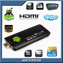 Rikomagic MK802IV RK3188 Quad Core Android 4.2 2GB Smart HDMI 1080P Bluetooth IPTV MK802 IV Mini PC Android TV Dongle