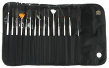 Professional Nail Kolinsky Art Brush 15 pcs/Professional Nail Art Brush Set Design Painting