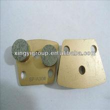 stone metal pads for epoxy resin floor coating