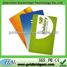 matte laminate /clear transparent pvc business card