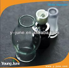 newest wax atomizer!dry herb,glass globe vaporizer kit,vaporizer is hot selling