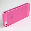 Factory price transparent matte skin tpu phone cover case for iphone5s 5