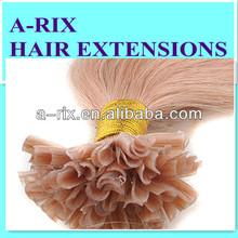 2014 hot selling 100 keratin tip human hair extension easier to wear