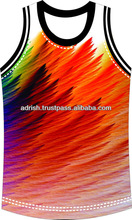 bodybuilding wholesale all over body animal sublimation printing tank tops