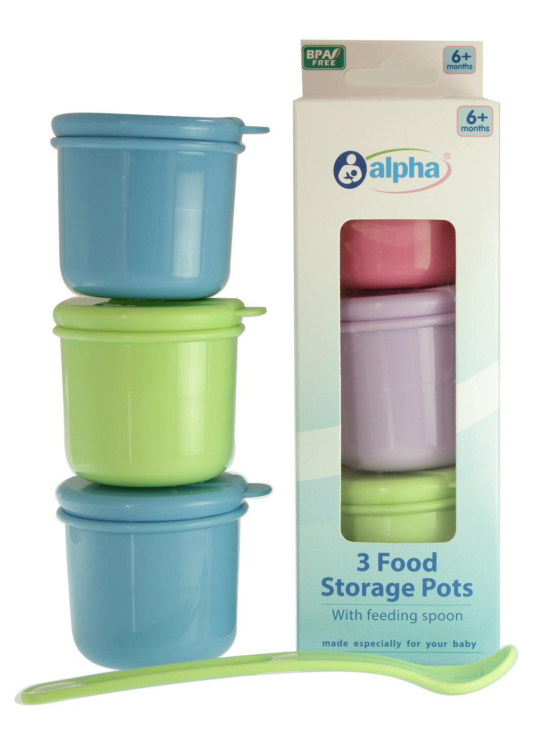 Pots Feeding Pots With Feeding Spoon