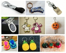 TOP QUALITY New Design keychain with clock