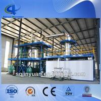 JINYUAN motor oil distillation machine / waste oil purification equipment