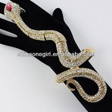 Fashion Snake Stretch Bracelet with Ring