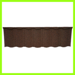 spanish synthetic resin high quality metal sand coated roof tile