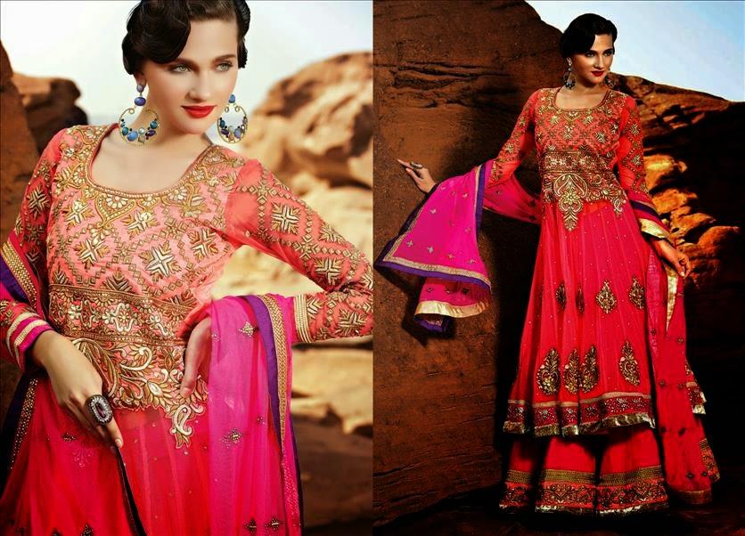 Designer Suit Woman Clothing Bollywood Indian Cotton Churidar ...