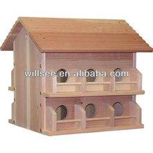 1038,Wooden Purple Martin House