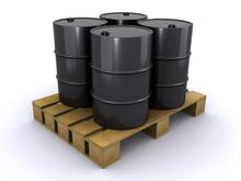 Waste Engine Oil in Drums.