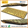 Bamboo keyboard, bamboo bluetooth keyboard for iphone/ipad/tablet