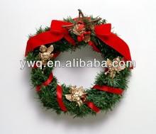 2014 xmas wreath artificial FIR wreath mini Christmas wreath promotional xmas decoration supply
