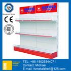 50 kg/layer supermarket shelf China supermarket shelf Stainless steel cosmetic supermarket shelf advertising