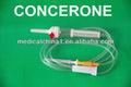 Suprimentos médicos, conjunto de infusão de infusão iv conjunto i. V. Precisão regulador de fluxo de conjunto de extensão, bombas de infusão para o hospital usado