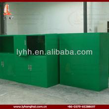 yellowgreen swing 4 doors steel wardrobe lockers,steel cabinet clothes locker,compartment steel locker