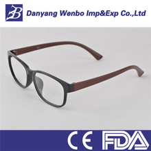 Fashion style half eye reading glasses with high quality