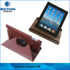 For ipad case with 360 rotating leather factory manufactory